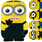 3D Silicone Gel Pouch Despicable Me Minions Soft Case Cover For Apple iPad 2,3,4