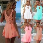 S-XL Women Lace Shorts Playsuit Summer Celeb Evening Party Dress Jumpsuit HOT CB