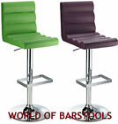 RIBBED DESIGNER BENITO BAR STOOL - AVAILABLE IN MANY COLOURS