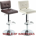 'URBAN' BAR STOOL AVAILABLE IN BLACK, WHITE, RED & BROWN