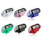 Digital Pedometer Walking Step Run Distance Calorie Counter Fitness Belt Clip UK