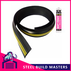25mm x 2.21m Garage Door Rubber Threshold Seal/ Draught Excluder. Weather Stop