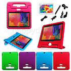 "Kids Safe Shock Proof Case Handle Cover for Samsung Galaxy Tab 3/4 10.1"" +Bundle"