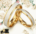 His & Her Matching Anniversary Titanium Promise Wedding Rings SzH-Z6 MKUSB4