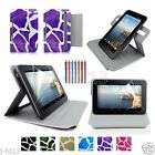 "Draft Leather Case Cover+Gift For 7"" Prontotec 7/Noria 7 Android Tablet GB9"
