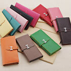 "Fashion Lady Women ""H"" Buckle Leather Purse Wallet Clutch Card Bags Handbag New"