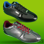 VOI JEANS DESIGNER MENS MURANO ANIMAL LEATHER LACE BLACK GREY TRAINERS UK 7-12