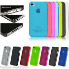 Durable Matte Smooth Dirt-proof Protector Case Cover For Apple Iphone 4 4S