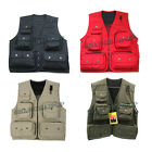 Multi Pocket Waist Coat Fishing Hunting Shooting Outdoor Vest Utility Workwear
