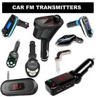 In Car wireless FM transmitter MP3 FM radio Audio Music for Mobile iPhone ipod