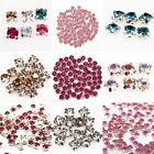Glass Crystal Metal Base Sew on Beads Cloth/Shoes Accessory  Finding,200pcs