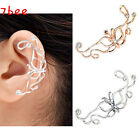 1x Hot Butterfly Gothic Metallic Crystal Cute Cuff Wrap Ear Clip Earring Gift EE