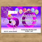 Personalised Birthday Party Invites With Envelopes 18th 21st 30th 40th Any Age