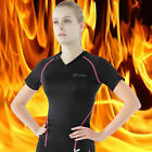 [Tesla] Women Compression HOTGEAR Tight Base Layer Thermal Short Sleeve WV26BP