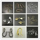 Mixed Earring Alloy Brass Clasp Hook Beauty Charms Jewelry Findings