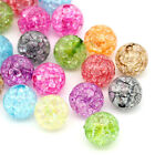 Wholesale Lots Mixed Crackle Acrylic Spacer Ball Beads 12mm(4/8