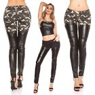Women's Sexy Slim Skinny Faux Leather Pant - XS / S / M / L / XL