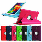 Rotating PU Leather Case Stand Cover for Samsung Galaxy Tab S 8.4 SM-T700 Tablet