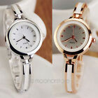 New Elegant Women OL Ladies Girl Bracelet Quartz Wrist Watch Analog Cuff Bangle