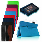 Folio PU Leather Smart Case Stand Cover for Amazon Regular Kindle Fire 7 Tablet