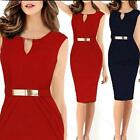 New Women Celeb Keyhole Tunic Business Cocktail Party Evening Sheath Shift Dress