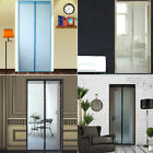 3 Color Magic Hands-Free Anti-Mosquito Mesh Screen Door W/ Magnets AS SEEN ON TV