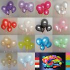 100 pcs 10 inch PLAIN LATEX BALLOONS Party Wedding Birthday Decorations