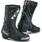 TCX S-RACE MOTORCYCLE MOTORBIKE BOOTS RRP £199.99 BLACK