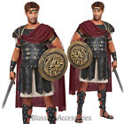 C801 Roman Gladiator Hercules Toga Medieval Halloween Fancy Dress Mens Costume