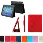 Magnetic Folio Fold Leather Case Smart Cover For Apple iPad 2 3 4 Gen Stand Slim