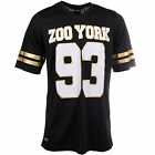 ZOO YORK Buzz Mens Football Fashion Shirt Jersey Black - RRP £25