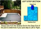 NEW 20 Year Solid Arctic Armor Ultra Light In Ground Swimming Pool Safety Covers