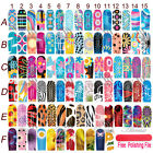 Water Transfer WRAPS STICKERS Polish Foils Decals Nail Art Tips Decoration Hot