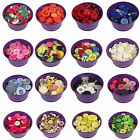 CLEARANCE!! 100g-1KG Assorted Mixed Buttons Arts Crafts Card Making Scrapbooking