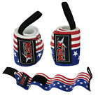 Power Weight Lifting Gym Training Bandages Fitness Straps Long Wrist Wraps 18""