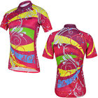 Cheji New Bike Women Cycling Bicycle Jersey Sports Outdoor Short Sleeve Jersey