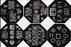 New Nail Art Image Stamp Stamping Plates Manicure Template QA82-87 Series