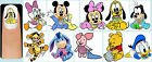 60x DISNEY BABIES Nail Art Decals + Free Gems Disney Baby Mickey Minnie Mouse