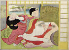 Poster / Leinwandbild Making Love in Winter - Katsukawa Shunsho