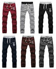 Men Fashion Summer Sports Gym Jogging Casual Long Pants Stretch  Harem Trousers
