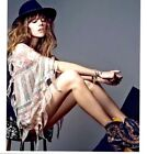 BNWT TOPSHOP KATE MOSS 2014 Tassel Feather Print Blouse Sizes 8 & 10 SOLD OUT