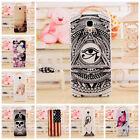 3D Fashion Pattern Transparent Clear Flank Hard Case Cover for Xiaomi 4 M4 Mi4
