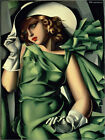 Poster / Leinwandbild Young Lady With Gloves 1930 - Tamara de Lempicka