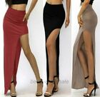 Women Sexy Asymmetrical Cut out Side Slit Long Skirt Party/gathering