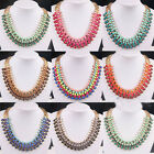 NEW fashion jewelery Occident Style weave exquisite multilayer Necklace