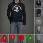 new ABERCROMBIE & FITCH MEN HOODIE TEE size S M XL NWT jacket BLUE green RED