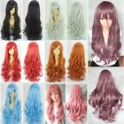 Fashion New Anime Wig Curly Wave Long Hair Full Wigs Cosplay Costume Party Wig