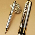 JINHAO 250 SILVER AND GOLD TWIST BALLPOINT PEN NEW BUSINESS PEN