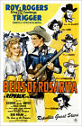 Poster / Leinwandbild BELLS OF ROSARITA, first and second from left: Dale ...