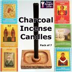 TRADITIONAL RUSSIAN CHURCH CHARCOAL INCENSE CANDLES TO CLEANSE NEGATIVE ENERGIES